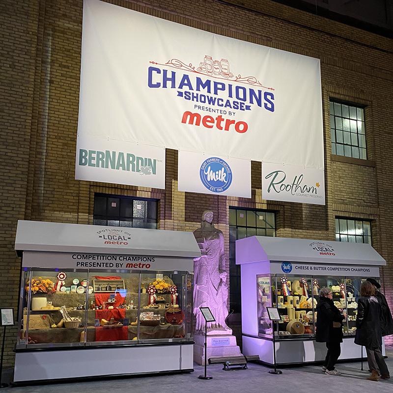 Royal Winter Fair Metro banner