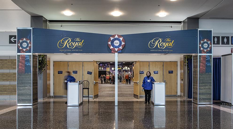 Royal Winter Fair Entrance