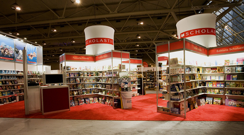 Scholastic Booth