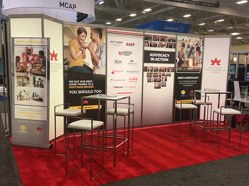 Mortgage Professionals Canada Booth