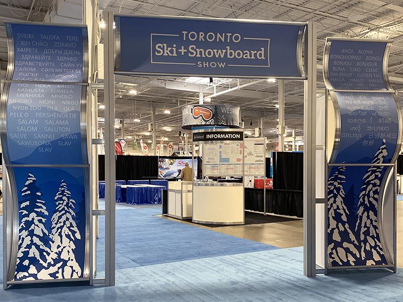 Toronto Ski & Snowboard Entrance