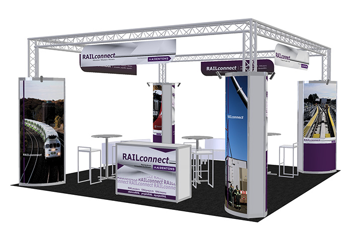 Rail Connect Exhibit Booth