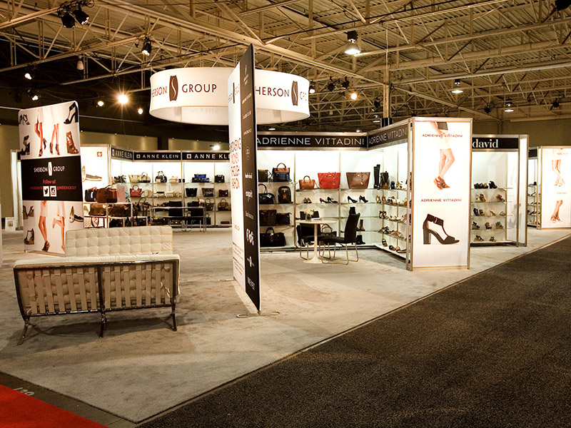 Shoe Show booth