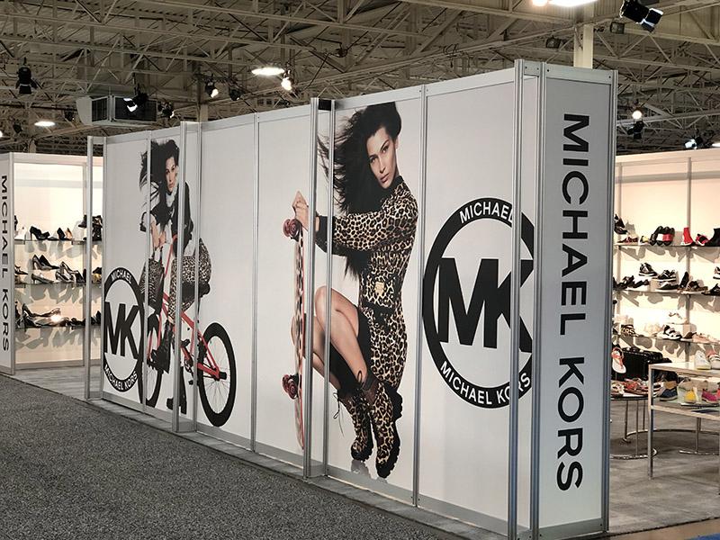 Michael Kors Custom Booth