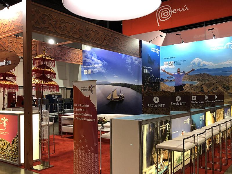 Indonesia Custom Booth