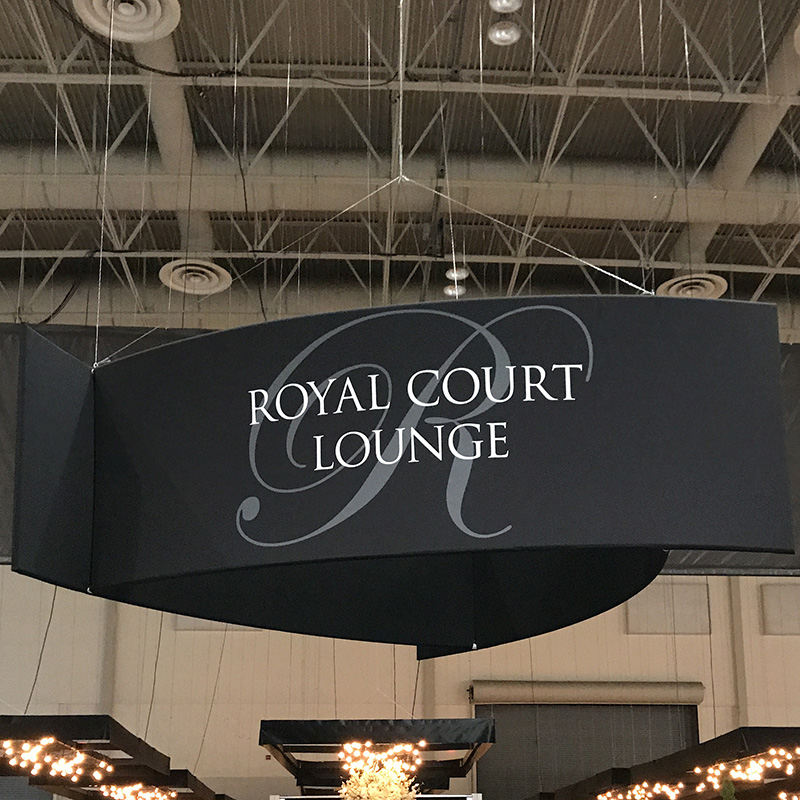 Royal Court Lounge Halo graphic